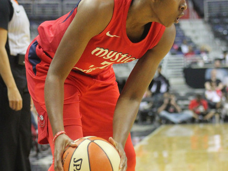Atkins, Delle Donne combine to score 50 as Mystics run past the Sky