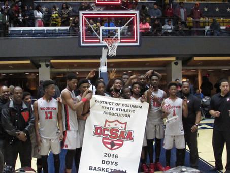 HD Woodson Captures The 2016 DCSAA Boys Basketball Championship