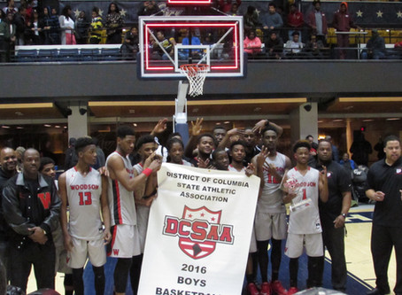 HD Woodson Captures The 2016 DCSAA Boys Basketball Championship