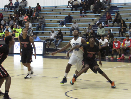 CCBC Catonsville Holds On Against PGCC 92-82