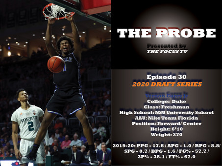 The Probe Ep. 30 - Duke Forward-Center Vernon Carey Jr