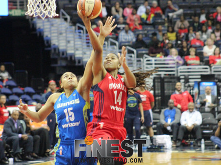 Mystics end drought, advance to second round with win over Wings