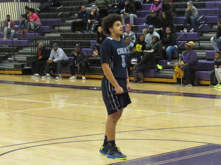 Warrick's Three As Time Expires Lifts PGCC Over #1 Montgomery College