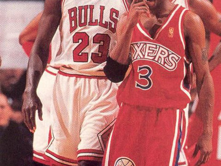 Allen Iverson's crossover on Michael Jordan ushered in a new fearless era