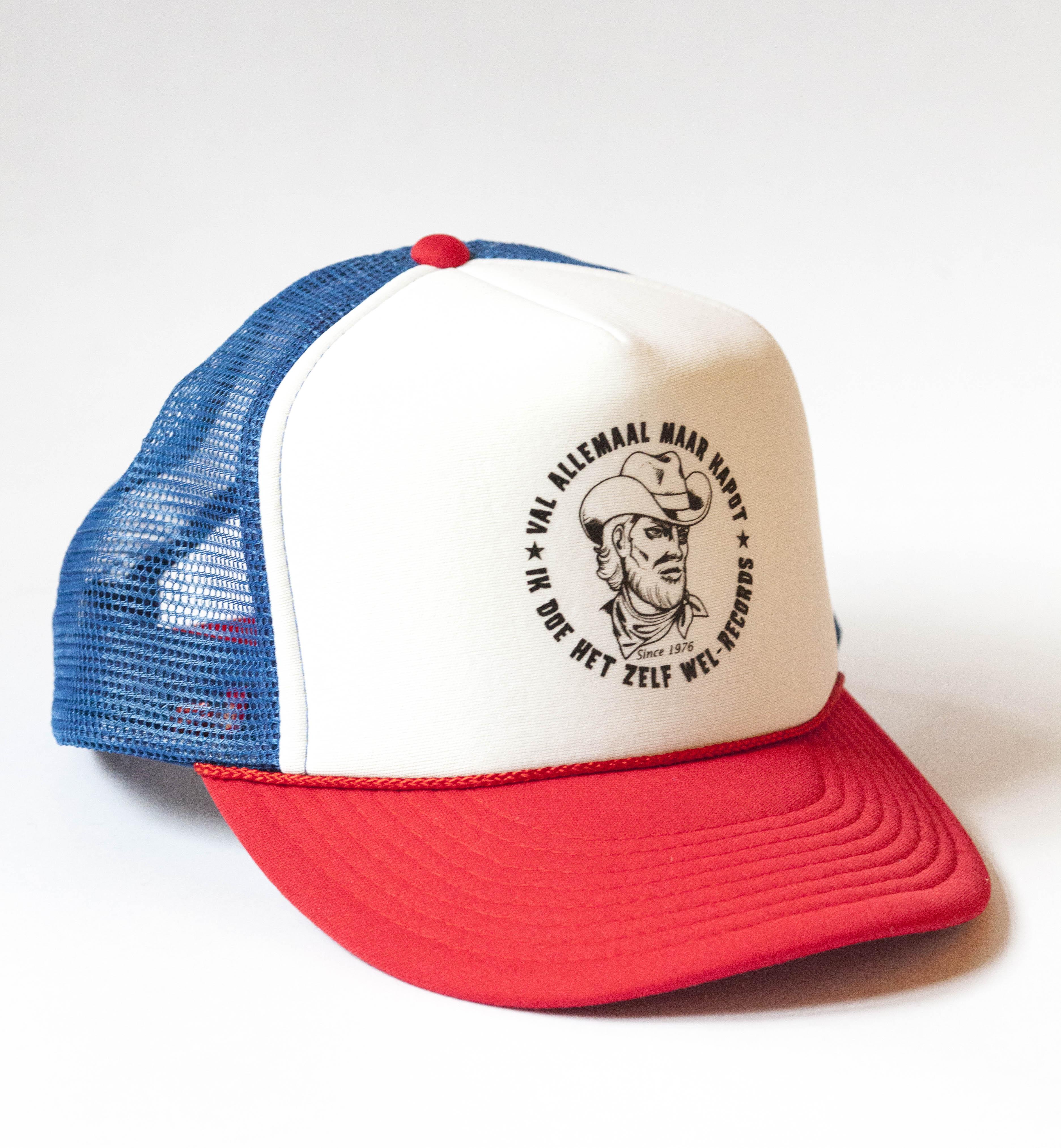 CAP ROOD BLAUW