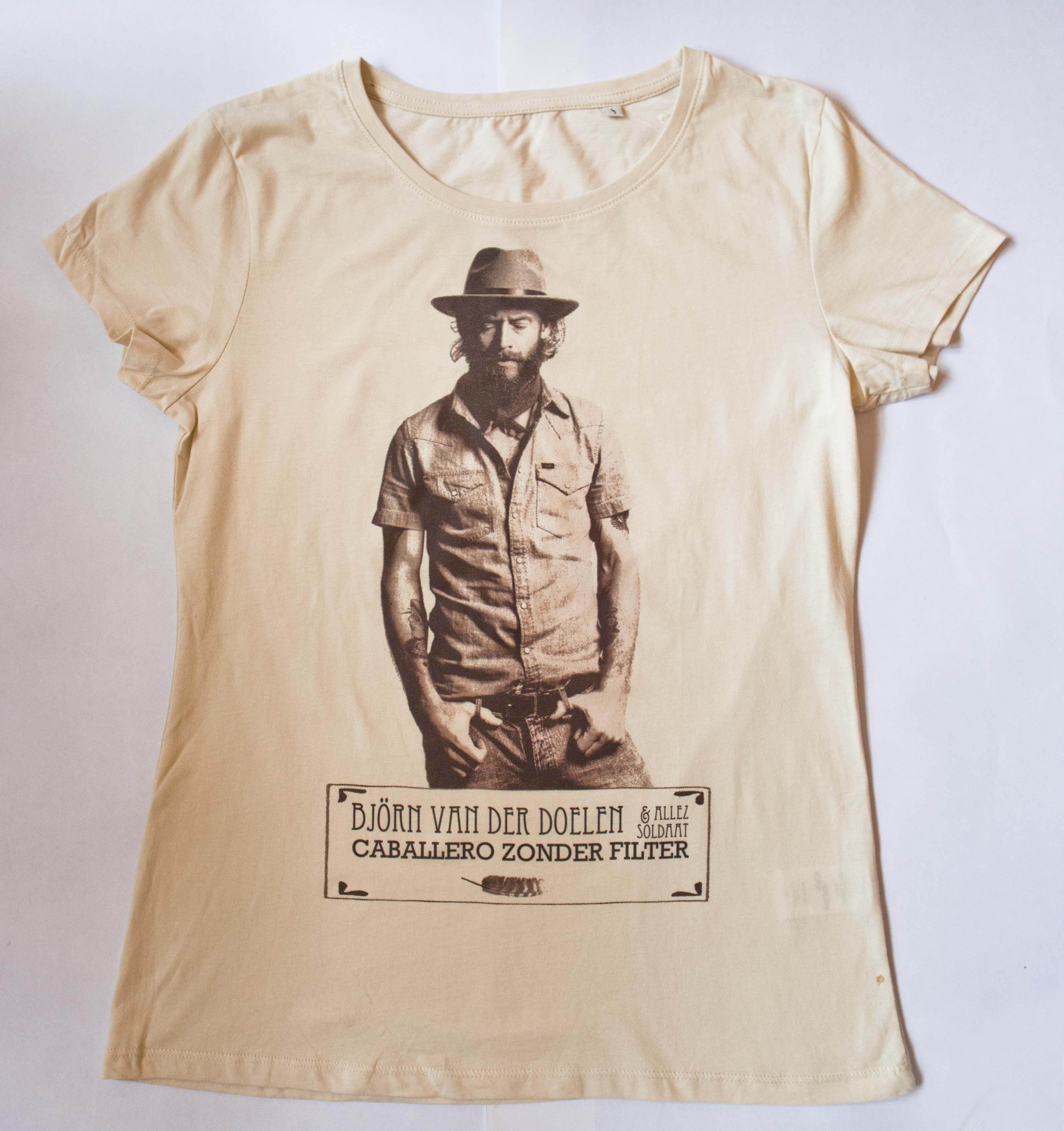 T-shirt Caballero zonder filter