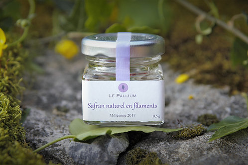 Safran naturel en filaments - 0,25g