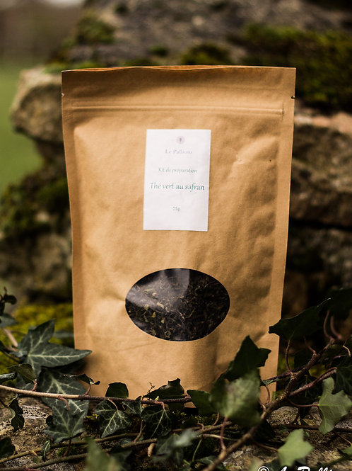 Kit de préparation : thé vert au safran