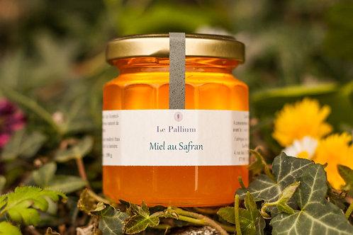 Miel aromatisé au safran (150g)