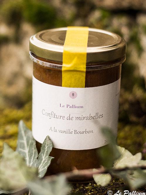 Confiture de mirabelle à la vanille Bourbon