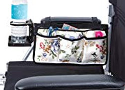 Floral Wheelchair Accessory Bag