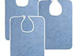 Utopia Bib Towels (Pack of 3) Baby Blue
