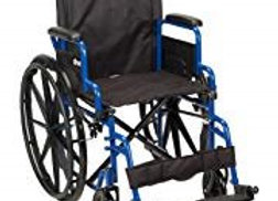 Drive Medical Wheelchair with Blue Streak
