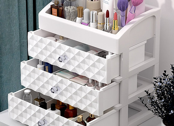 Multi Drawer Cosmetic Case Storage (For Work Space, Table, Or Countertop)