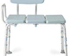 Medline Tub Transfer Bench With Microban Antimicrobial Protection