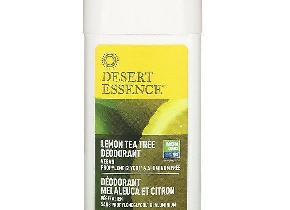 Desert Essence Lemon & Tea Tree Deodorant