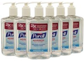 Purell Advanced Instant Hand Sanitizer (Pack of 6)