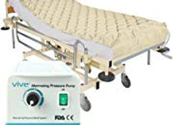 Vive Alternating Pressure Pad - Includes Mattress Pad and Electric Pump System