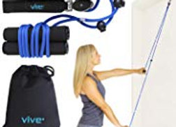 Vive Shoulder Pulley - Over Door Rehab Exerciser for Rotator Cuff Recovery - Arm