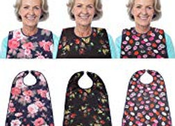 Clothing Protector with Optional Crumb Catcher (Pack of 3)