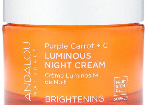 Andalou Naturals Purple Carrot + C Brightening Cream