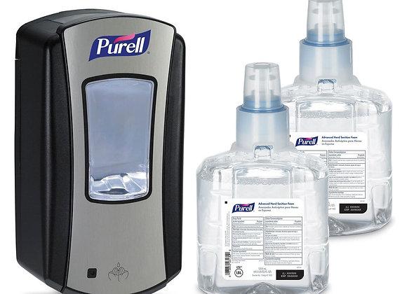 PURELL Advanced Hand Sanitizer Foam LTX-12 Starter Kit w/ Dispenser