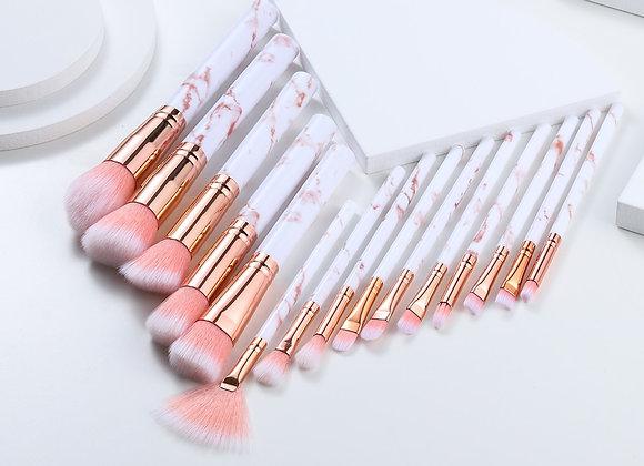 10-15 pcs Soft Makeup Brushes