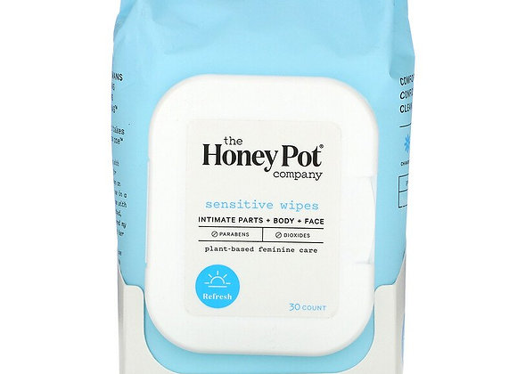 The Honey Pot Company, Sensitive Wipes (30 Count)