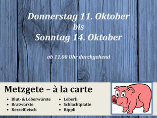 Iddaburg - Metzgete