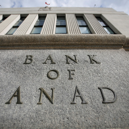 BANK OF CANADA HOLDS RATES STEADY