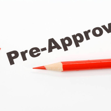 Advantages of a Pre-Approval