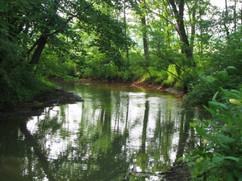 Waterways along the Sewickley Creek
