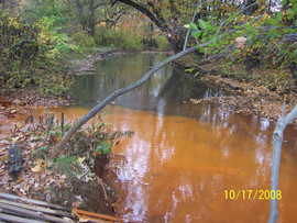 Brinkerton AMD into Sewickley Creek.
