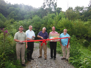 Dedication of the Lewis Stout Memorial Trail