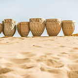 Drums on Sand