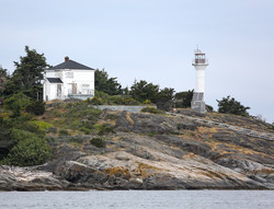 Discovery Island Lighthouse  Victoria BC