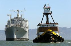 Towing on San Francisco Bay