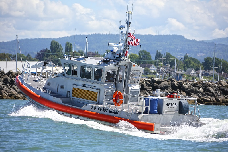 USCG in Bellingham Bay