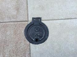 止水栓型にくりぬいたILB