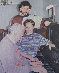 3 generations of piano technicians at its finest
