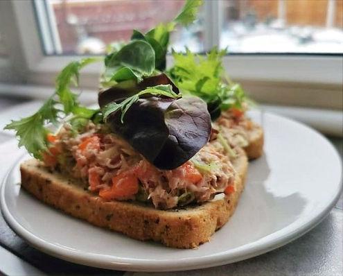 tuna crunch toast