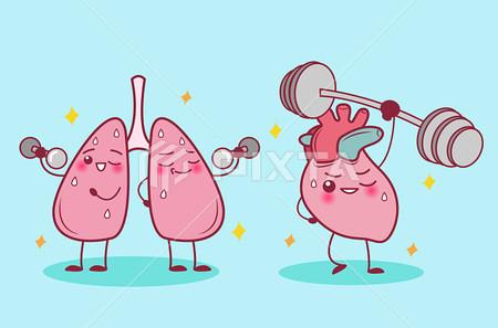 노작성 호흡곤란, 대학병원 심혈관 조영술 거부 후 천식 치료에 대한 반응