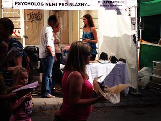 Psycholog není pro blázny! Měli jsme stánek na Zažít město jinak