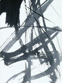 Bruno Suter_2010, acrylique sur toile,110x170 cm