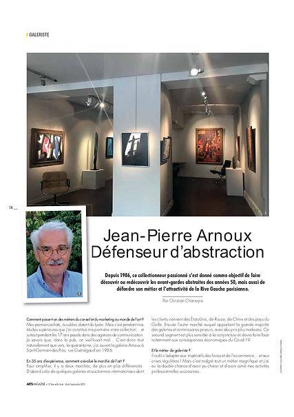 Arts Magazine, n° 31, août-sept 2020 pp1
