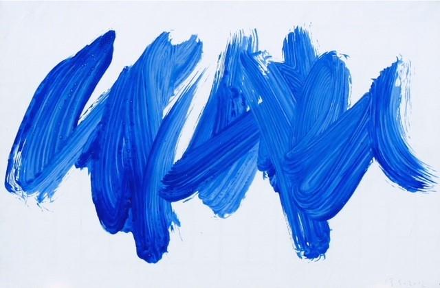 Bruno Suter_2012, acrylique sur toile, 100 x 150 cm