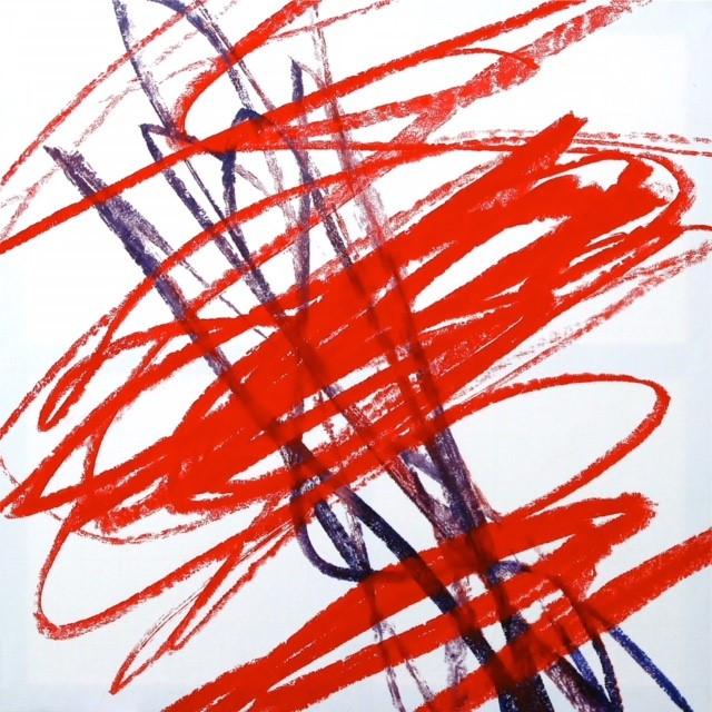 Bruno Suter_2011, acrylique sur toile,150x150 cm