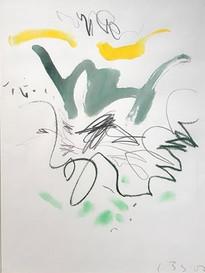 Bruno Suter, 2004, aquarelle sur papier, 39,5 x 29,5 cm