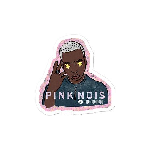 Pink Nois Logo Sticker