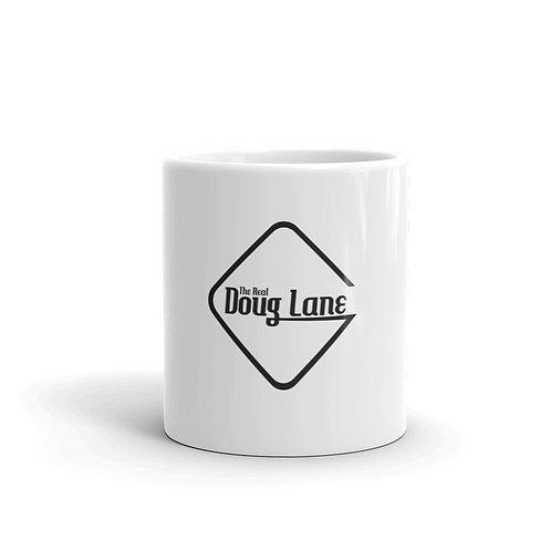 The Real Doug Lane White glossy mug